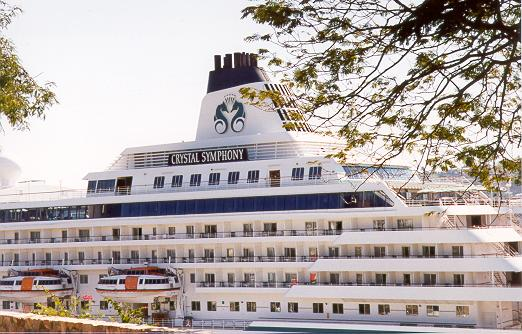 Crystal Symphony in Acapulco